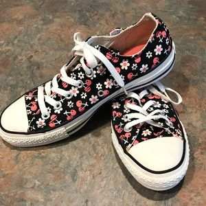 VTG Converse All Star Cherry Blossom Floral Size 8